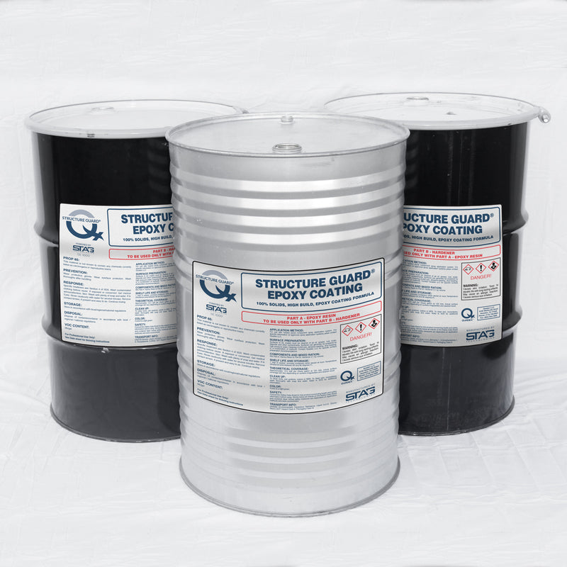 Structure Guard® Epoxy<br><h5>150 Gallon Kit<br>SE 1000 100% Solids Monolithic Epoxy</h5>