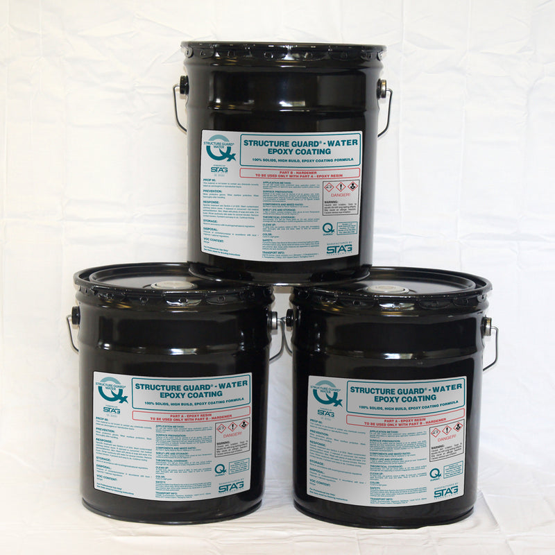 Structure Guard®-Water<br><h5>15 Gallon Kit<br>SE 3000 100% Solids Hybrid Epoxy</h5>