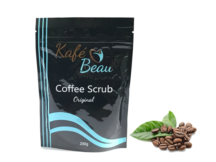 Original Kona Coffee Scrub with Dead Sea Salts