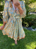 JAASE Leilani Print French Dress