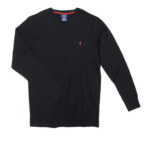 Polo Ralph Lauren Men's Long Sleeved Waffle Thermal Sleepwear T-Shirt