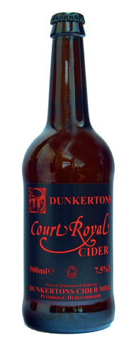 Dunkertons Court Royal Organic Cider 500ml