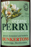 Dunkertons Organic Perry 330ml