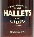 Hallets Real Cider - Medium Cider 330ml