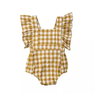 Piper Plaid Romper