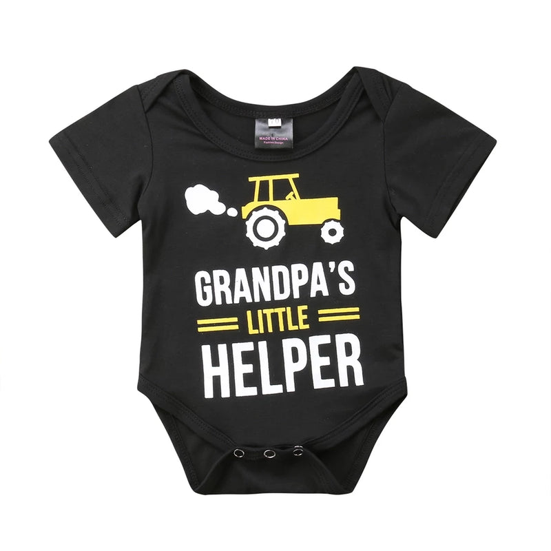 Grandpa's Little Helper Bodysuit