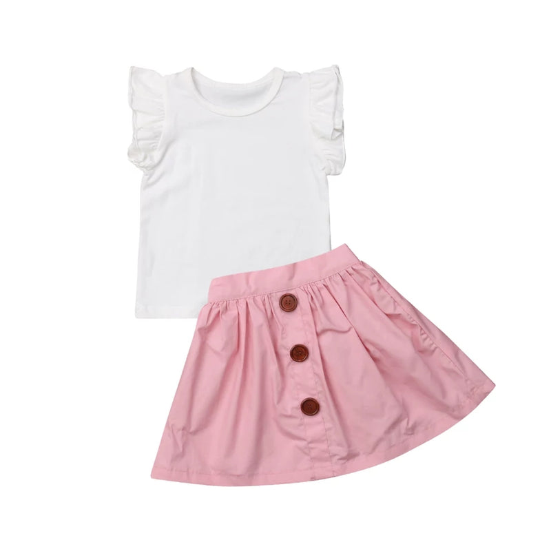 Havannah Skirt Set - Pink
