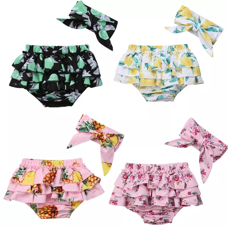 Ruffle 2pc Bloomer Sets
