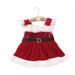 Mrs Clause Christmas Dress