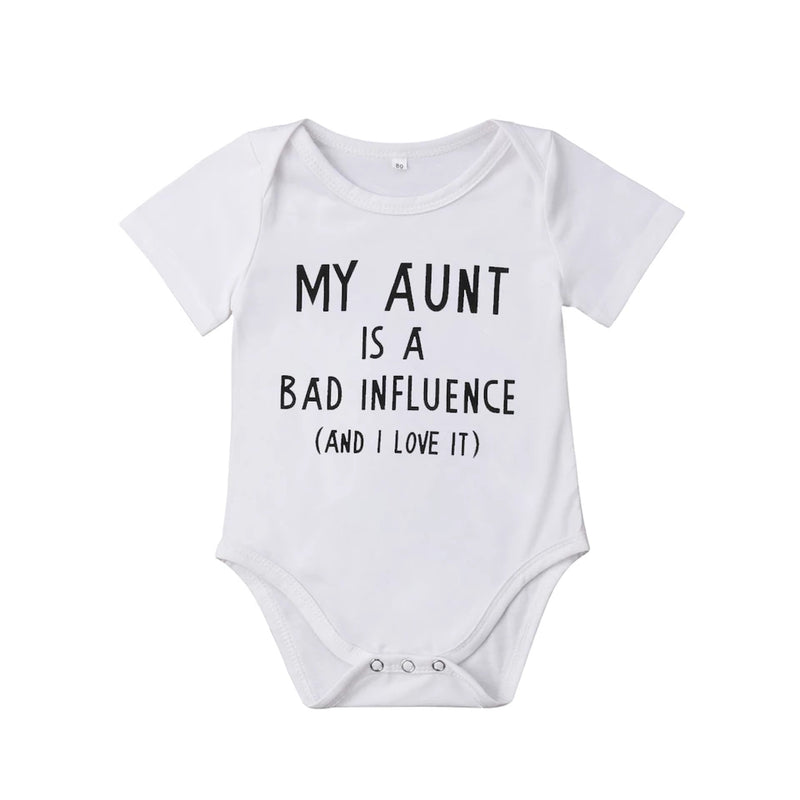 My Aunt Is A Bad Influence Bodysuit