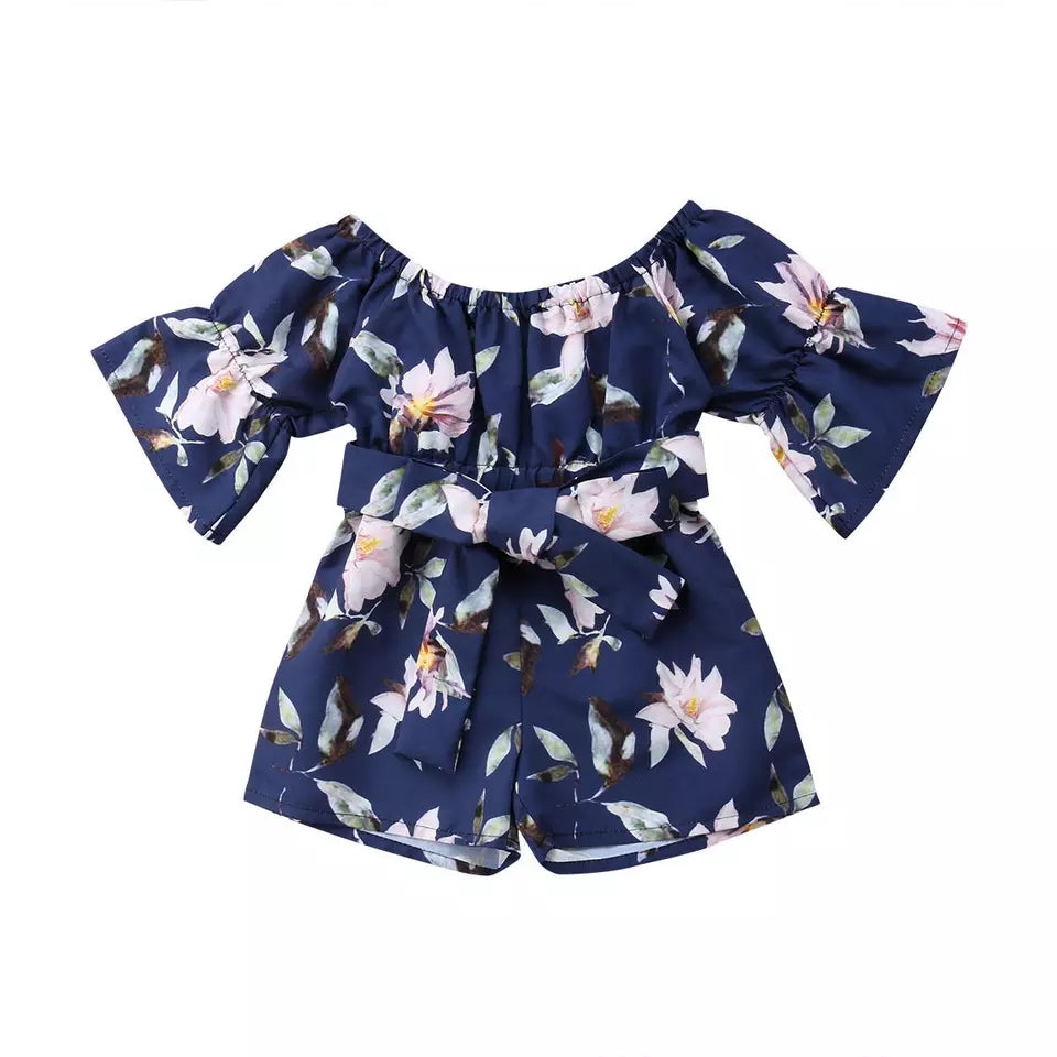 Belle Playsuit (Navy)