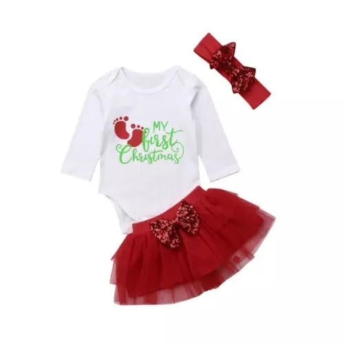 My First Christmas Set (size 6-12m)