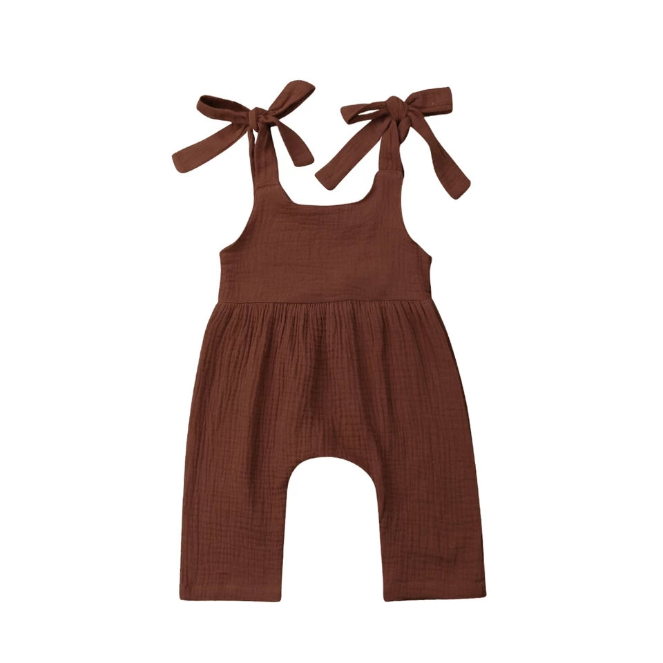 Liv Playsuit - Chocolate