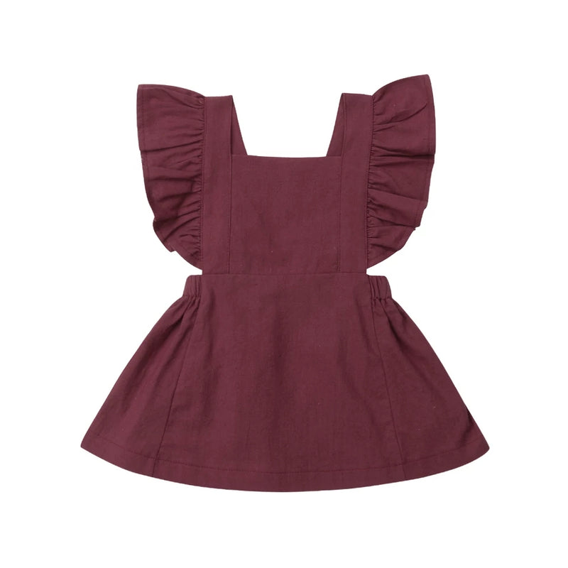 Poppy Dress - Burgundy