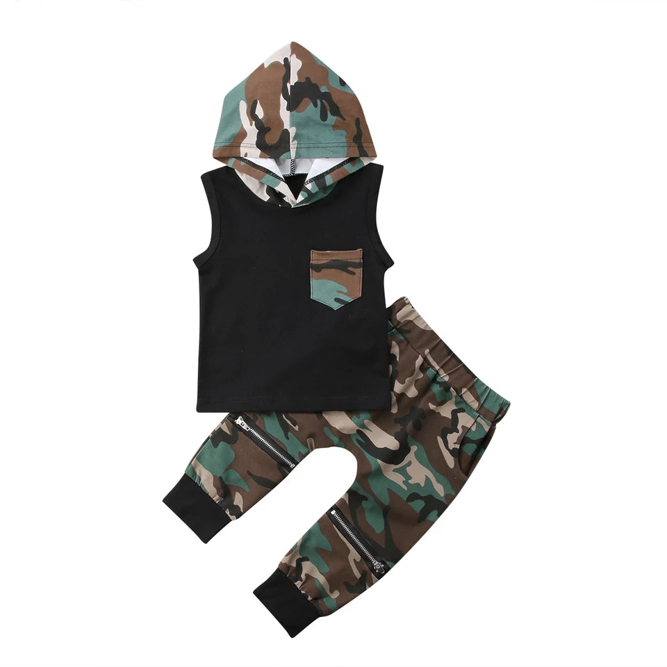 Billy Zip Knee Camo Set