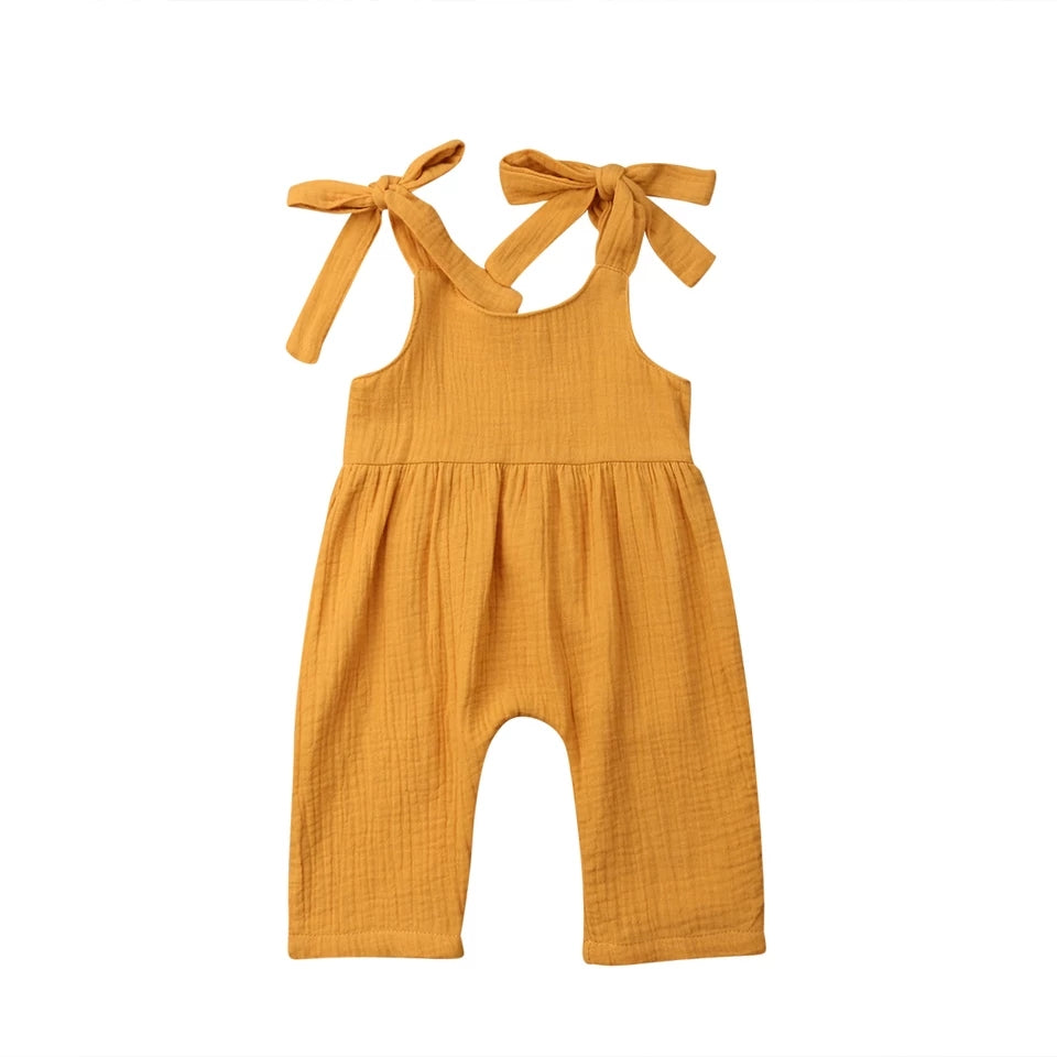 Liv Playsuit - Mustard