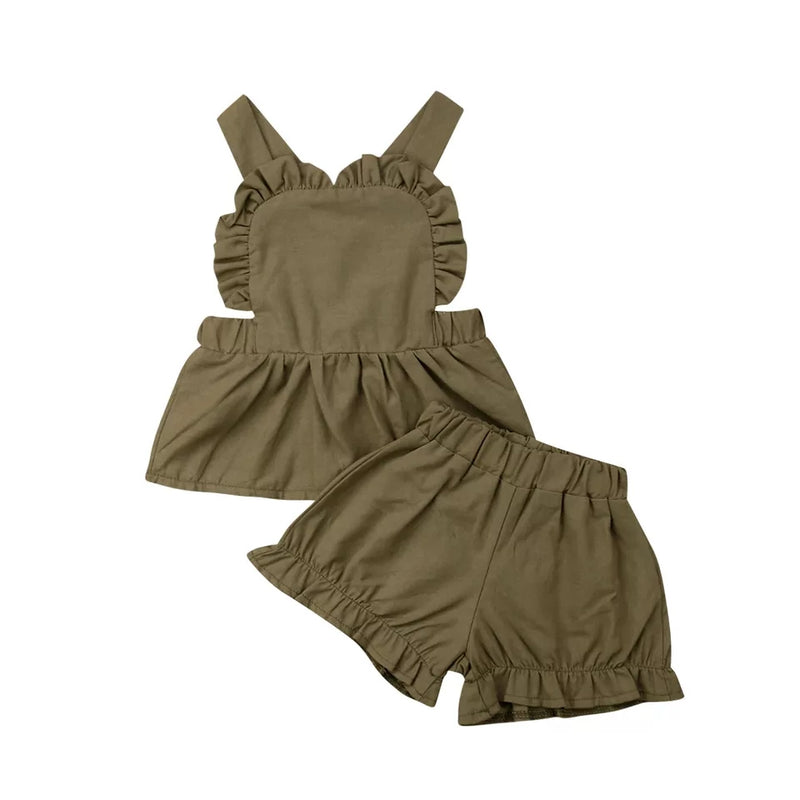 Shea 3pc Set - Khaki