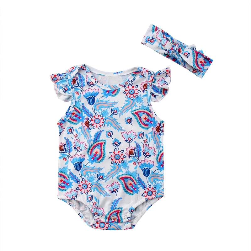 Paisley 2pc Bodysuit