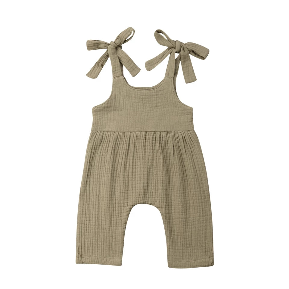 Liv Playsuit - Khaki Green