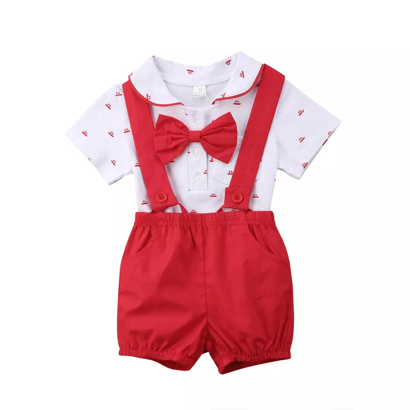 Dapper Sailor Set - Red
