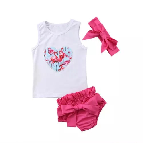 Flamingo 3pc Set