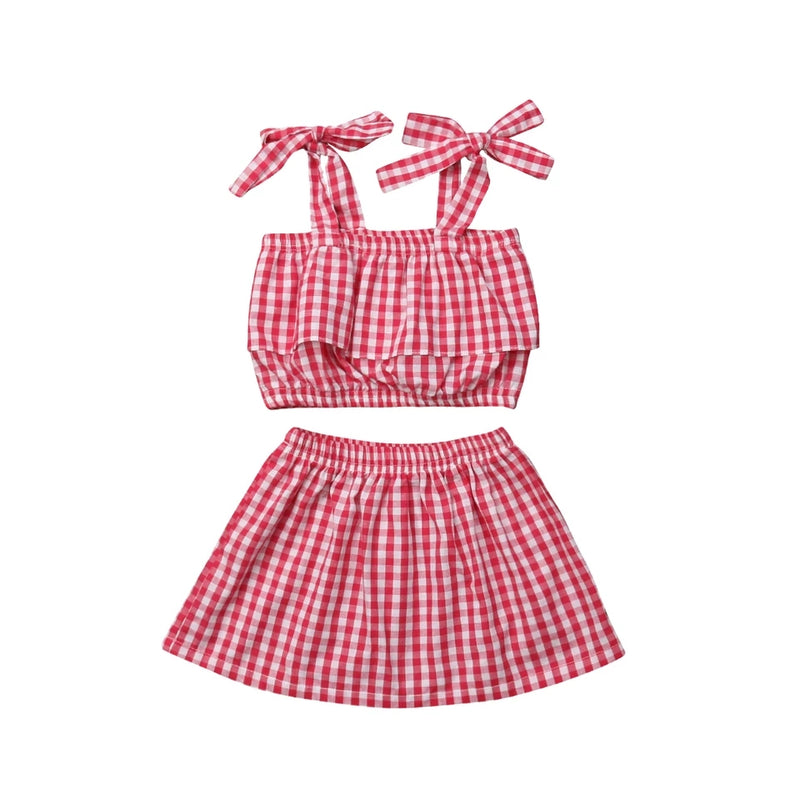 Eliza Plaid Set
