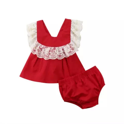 Sweet Lace Chistmas Set