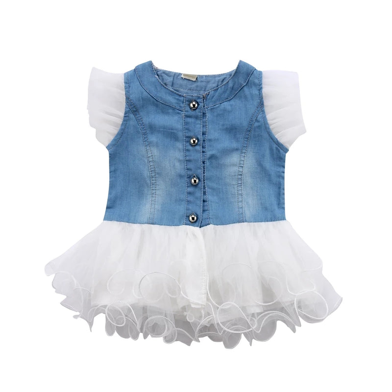 Tina Denim Tutu Dress