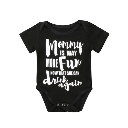 Mommy Can Drink Again Bodysuit