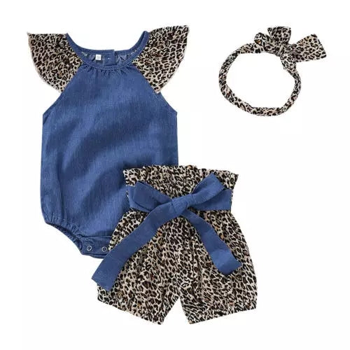 Holly Leopard 3pc Set
