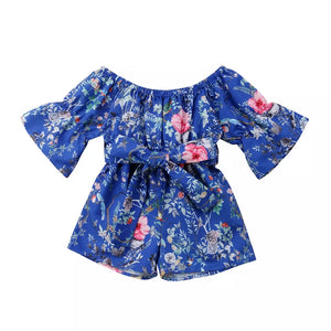 Belle Playsuit (Blue)