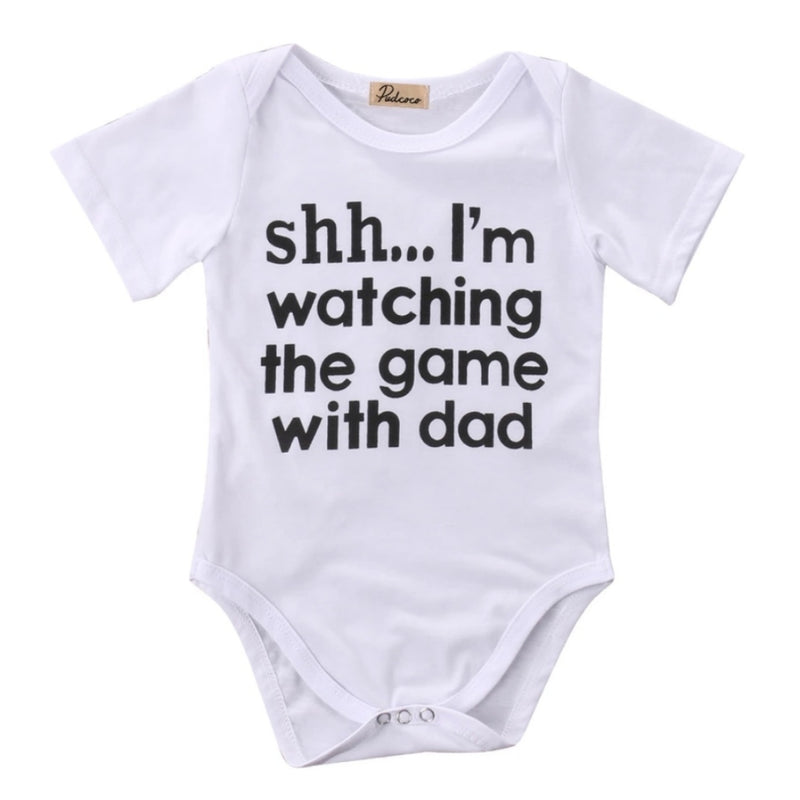 Watching the Game Bodysuit