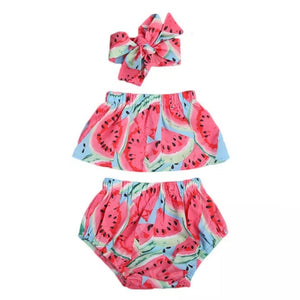 Fruity Patootie Melon 3pc Set