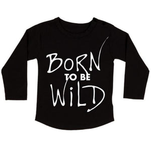 Born To Be Wild Longsleeve Tee - MLW By Design
