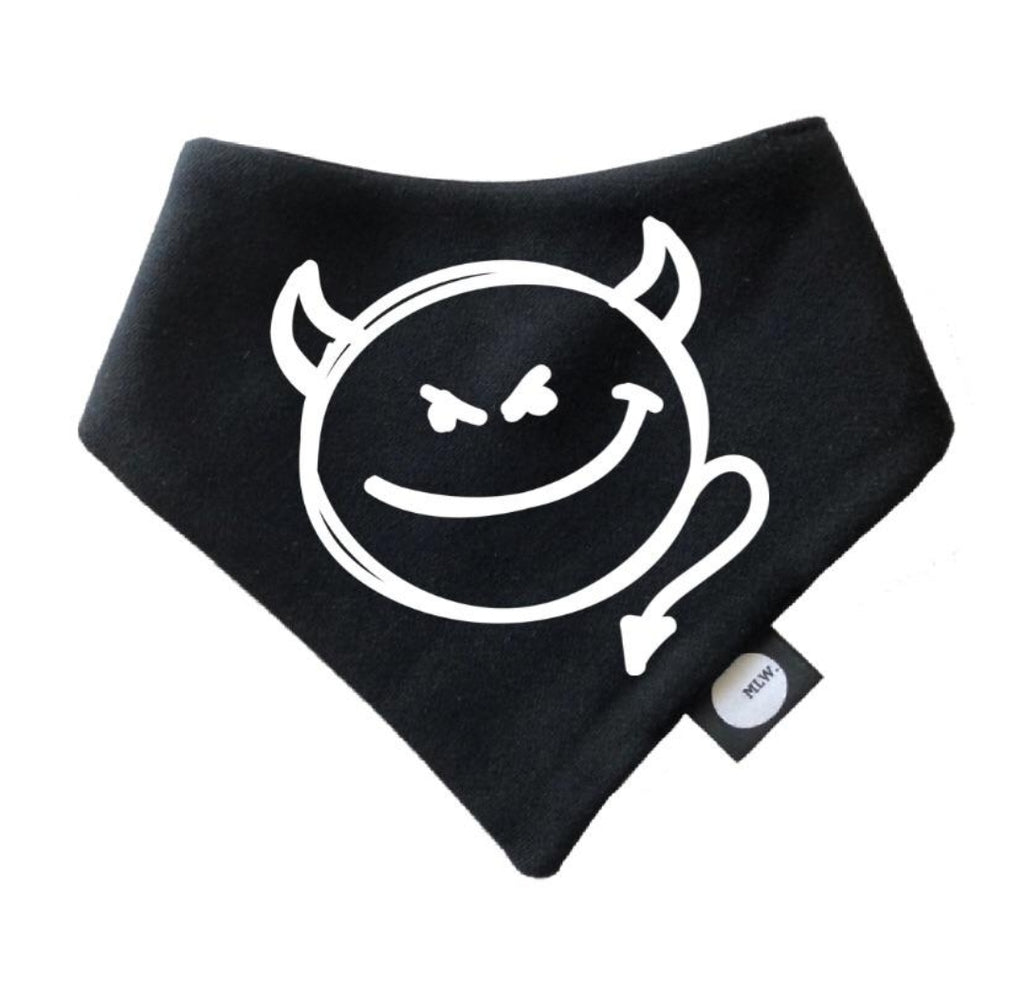 Devil Bandana Bib - MLW By Design