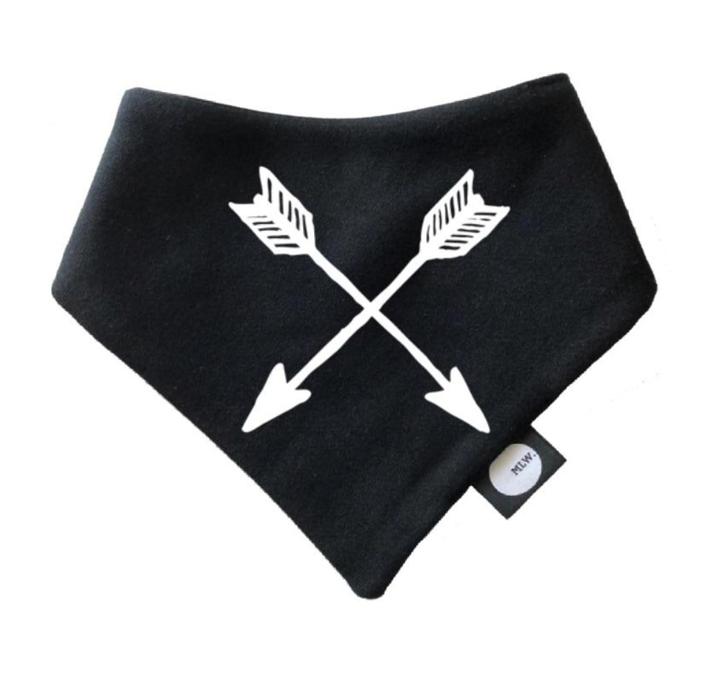 Arrows Bandana Bib - MLW By Design