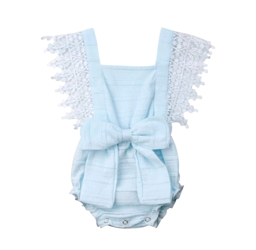 Maddy Romper - Baby Blue