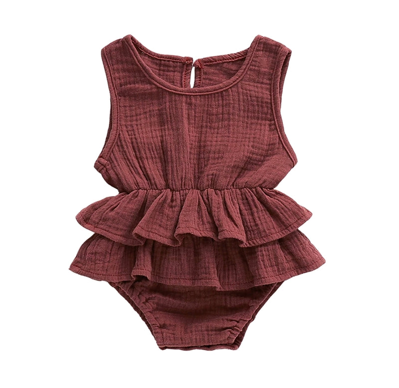 Kirsten Romper - Brown