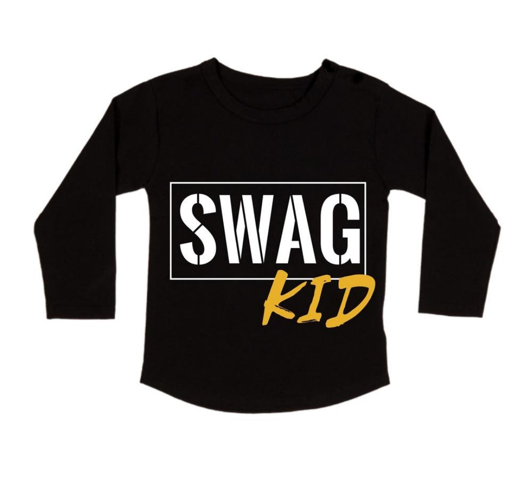 MLW By Design - Swag Kid Long Sleeve Tee
