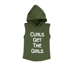 Curls Get The Girls Hoodie - MLW By Design