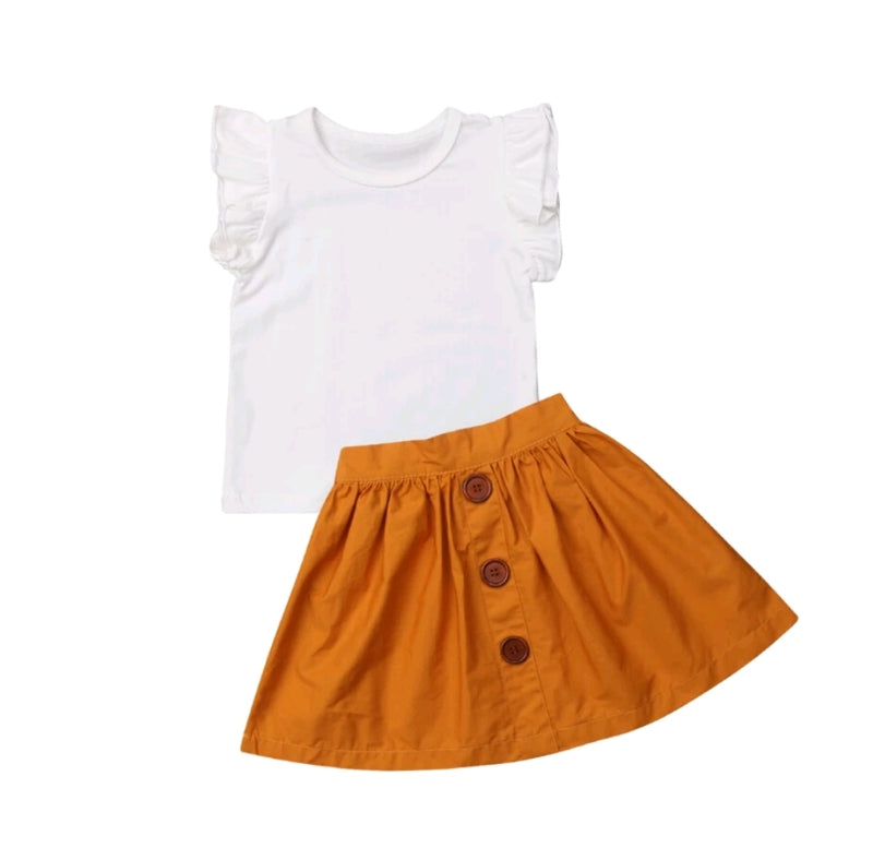 Havannah Skirt Set - Mustard