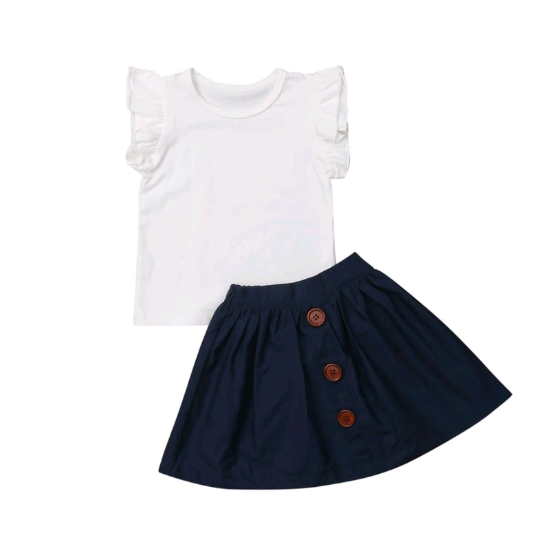 Havannah Skirt Set - Navy