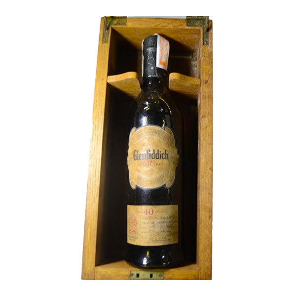 Glenfiddich 40 Year Old Rare Collection (bottled oct 23, 2000)