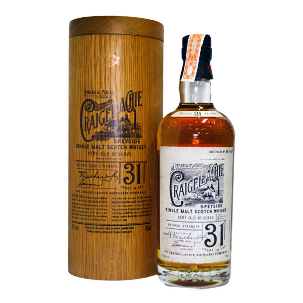 "Craigellachie 31 Year Old - ""WWA 2017 - Best Single Malt of the World"""