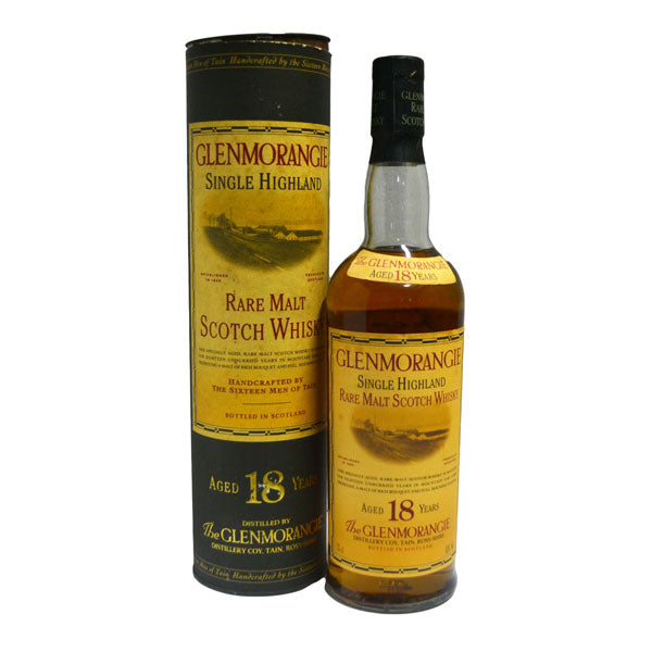 Glenmorangie 18 Year Old Rare Malt - 90's Bottling