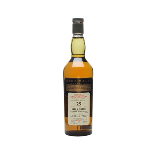 Hillside 25 Year Old Rare Malts (Distilled 1971) - Closed Distillery