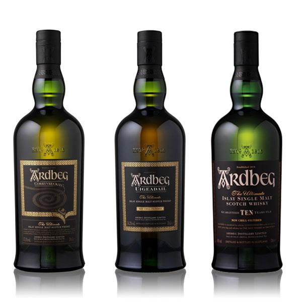 Ardbeg Day Set (3 Bottles)