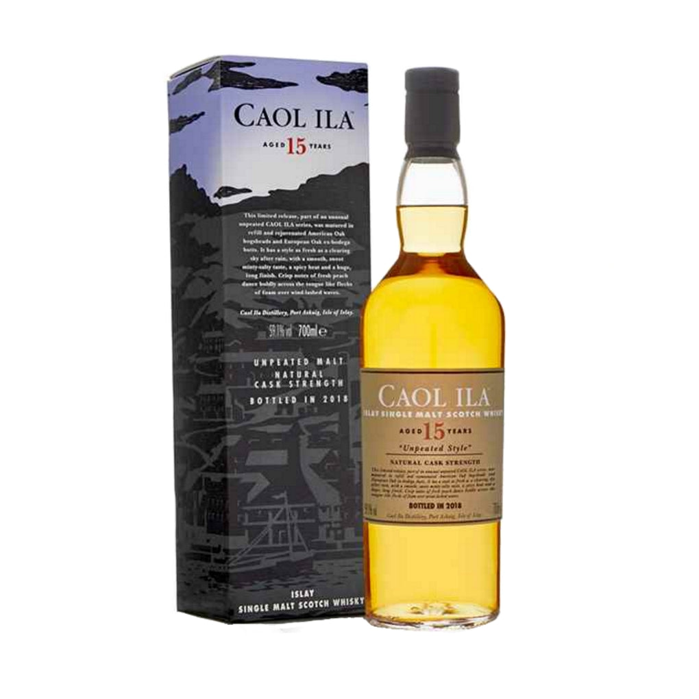 Caol Ila 15 Year Old Unpeated  - Limited Edition 700ml