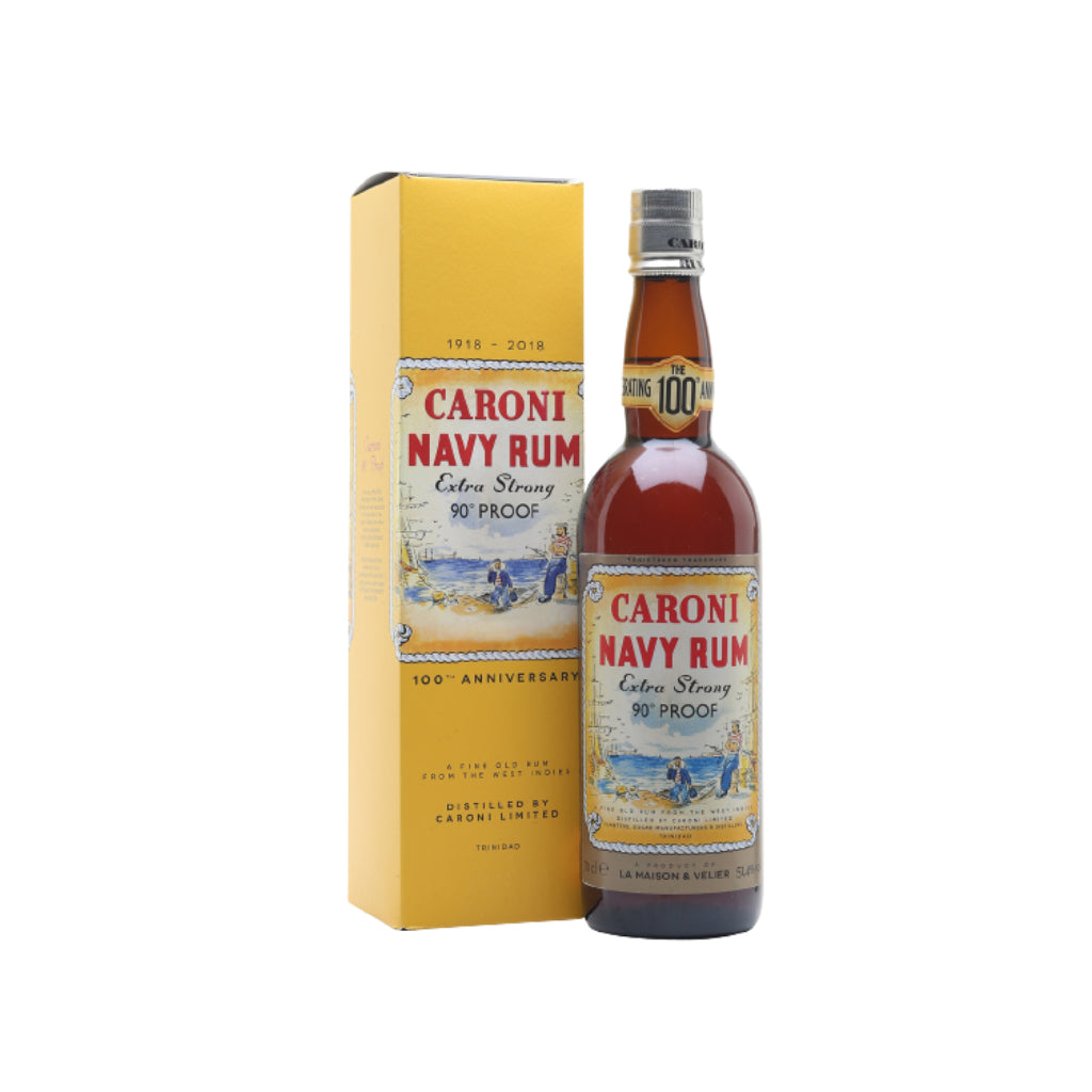 "Caroni 18YO Navy Rum ""100th Anniversary"" 70cl"
