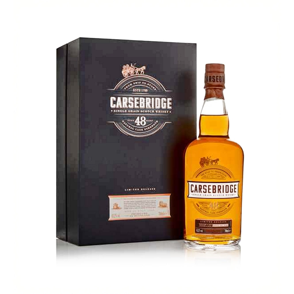 Carsebridge 48 Year Old Single Grain Whisky - Limited Release 700ml